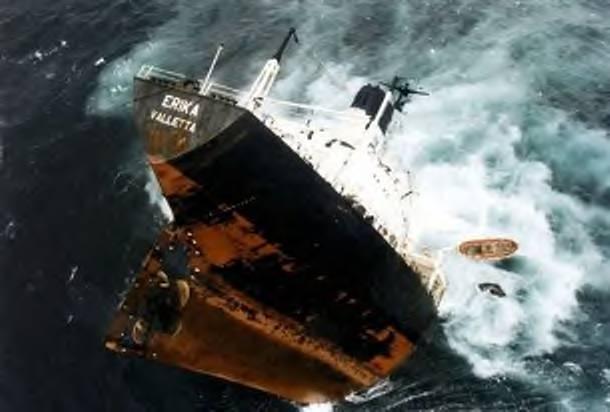 oil tanker off France