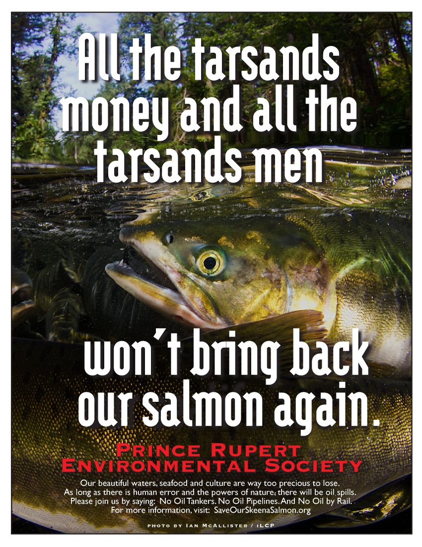 McAllister Salmon poster